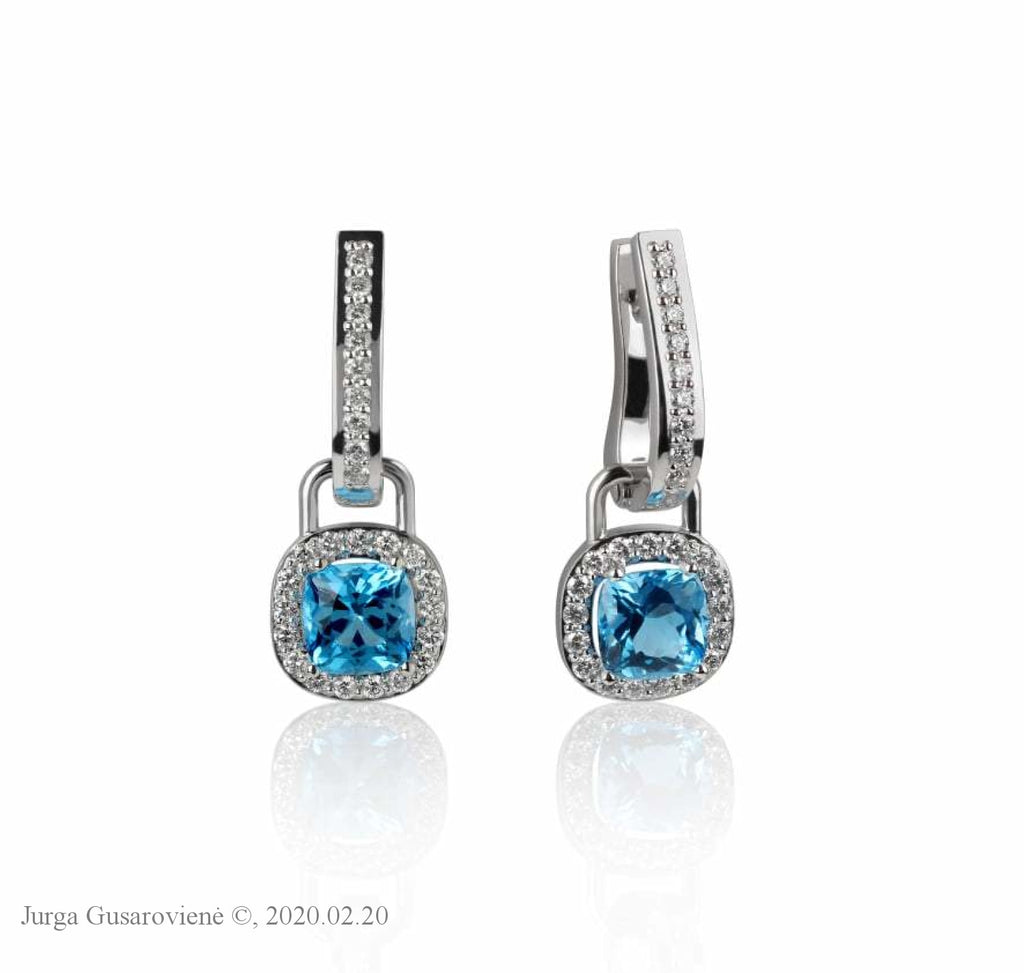 Earrings Princess Topaz