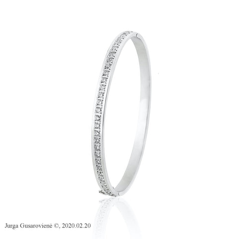 White Diamond Bracelet