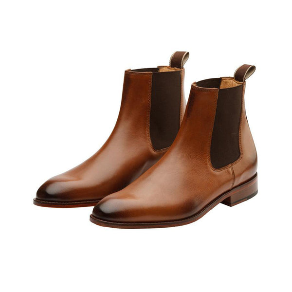 Tan Chelsea Boots