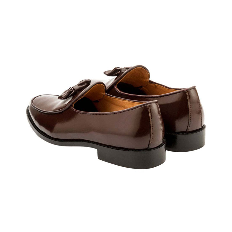 Brown Belgian Bowtie Loafer