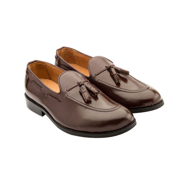 Brown Tassle Loafer
