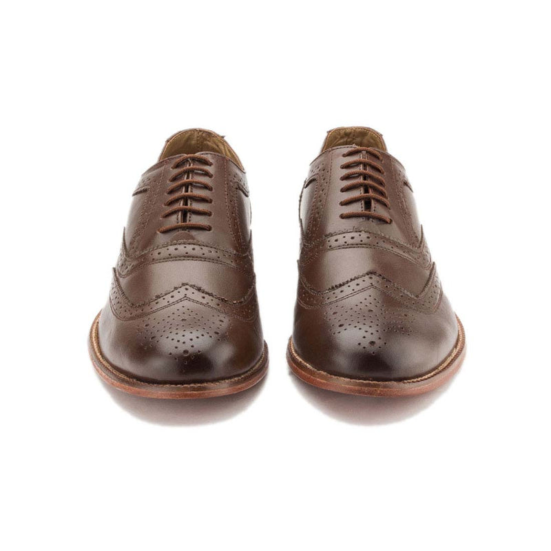 Cherry Brown English Brogue