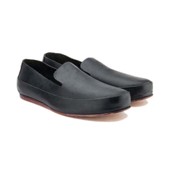 Black Classic Slip On