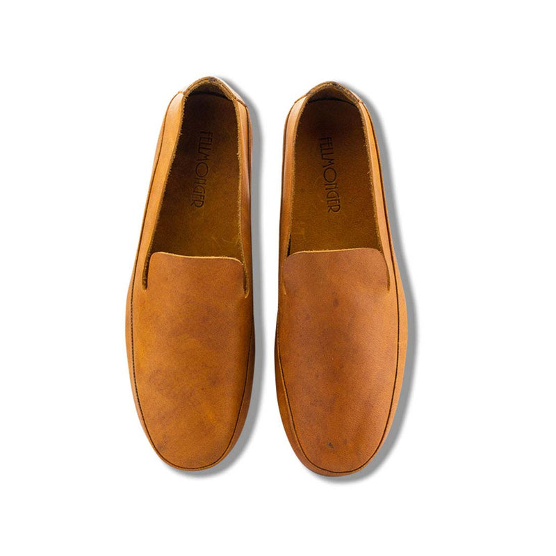 Marmalade Leather Classic Slip On