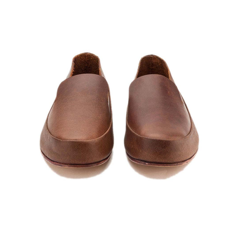 Chestnut Leather Classic Slip On