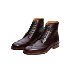 Burgundy Derby Boot