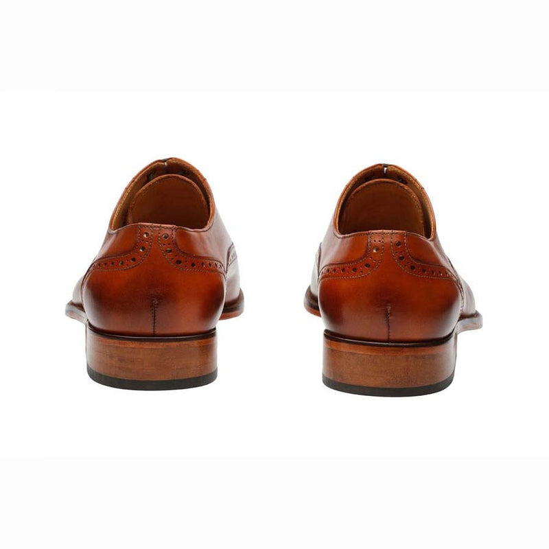 Cognac Captoe Oxfords