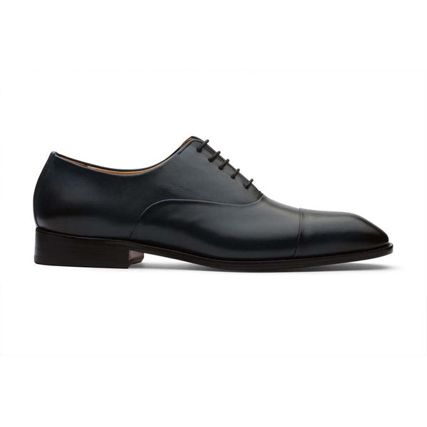 Navy Captoe Oxfords