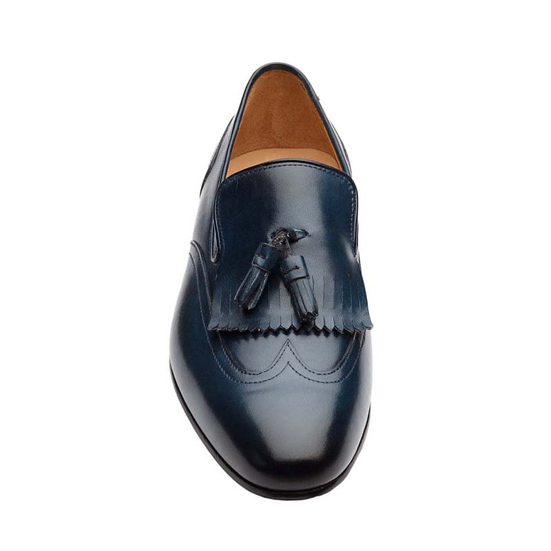 Navy Kiltie Tassel Loafers