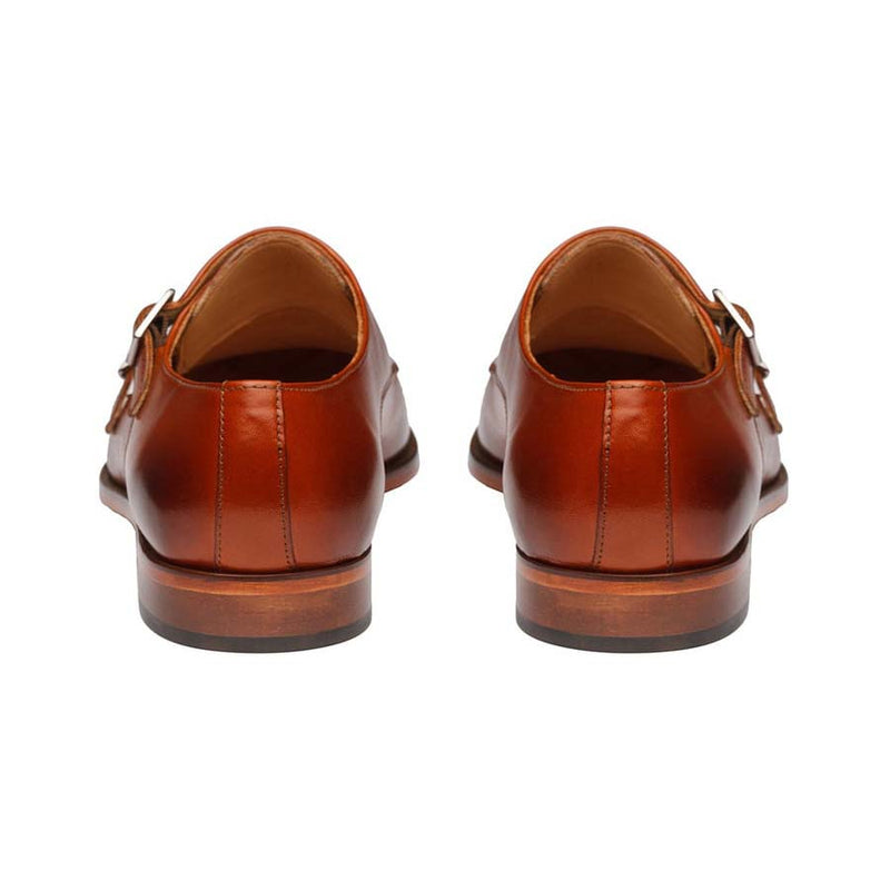 Tan Captoe Double Monk Strap