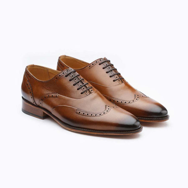 Tan Element Brogue