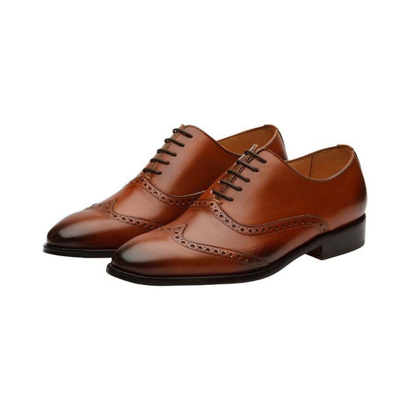 Tan Sharp Brogues