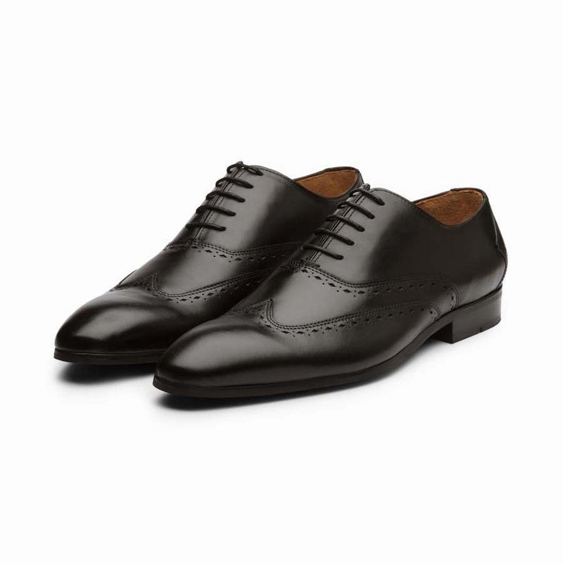 Black Diamond Cut Wingtips