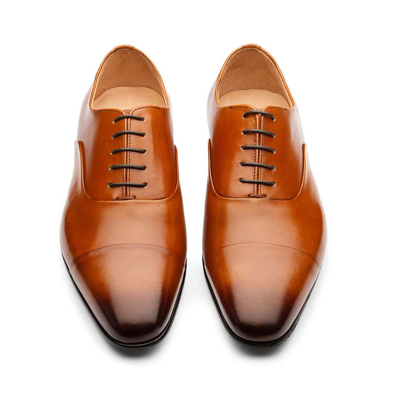 Tan Sleek Toecaps