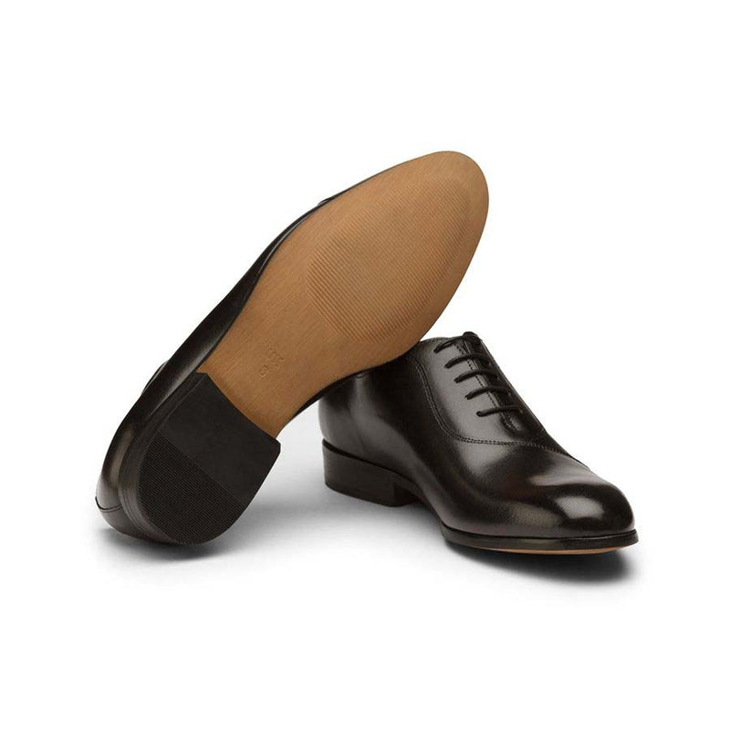 Black Assymetrical Oxfords