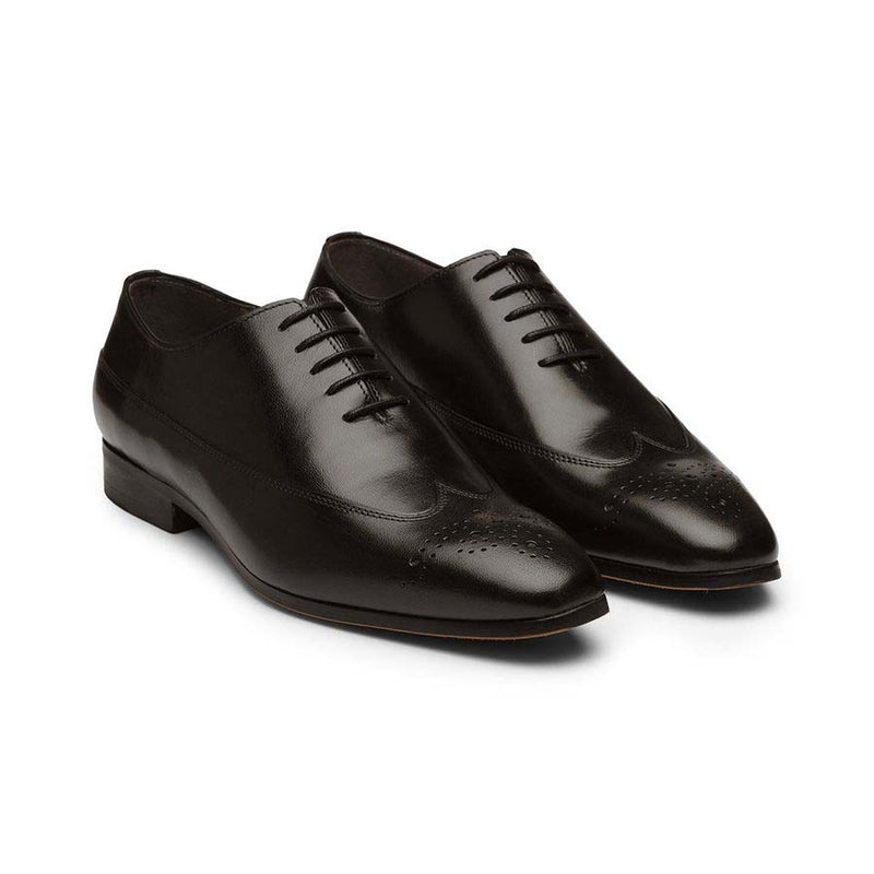 Black Longwing Oxfords