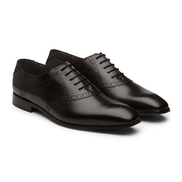 Black Saddle Oxfords
