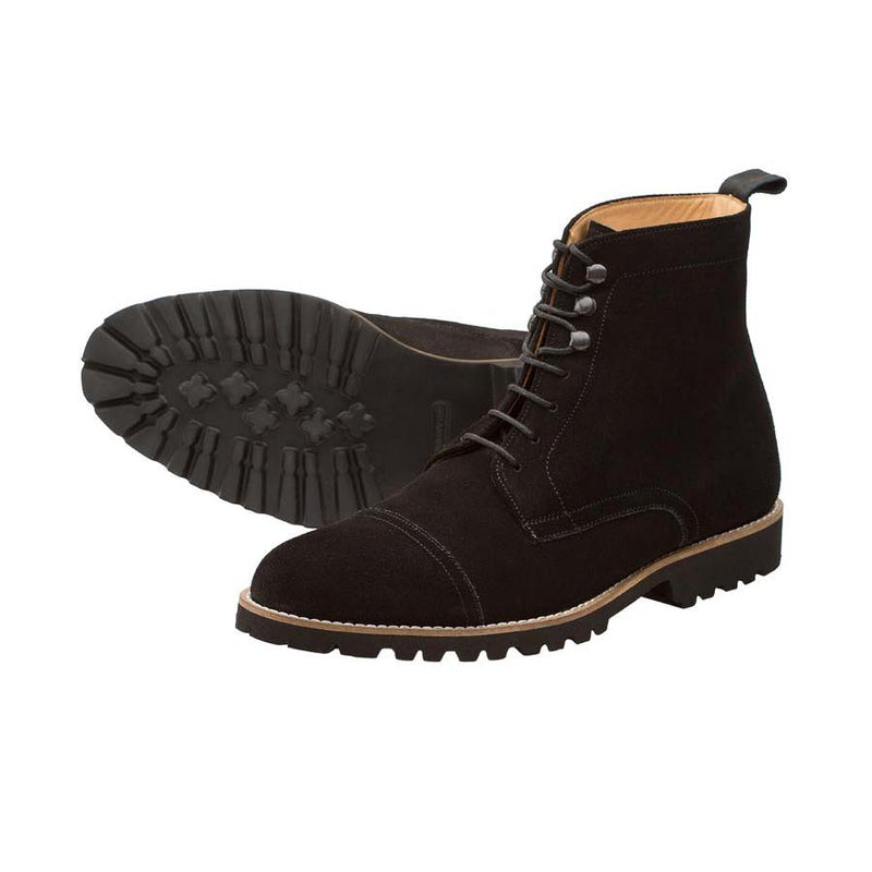 Black Suede Lightweight boots