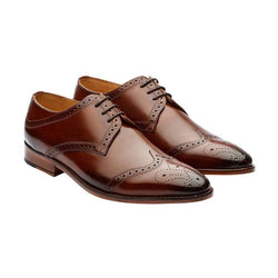 Brown Wingcap Oxfords