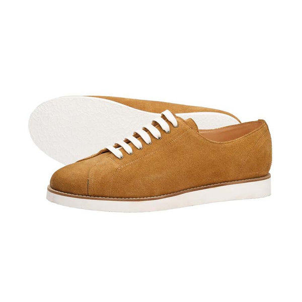 Camel Suede Classic Sneakers