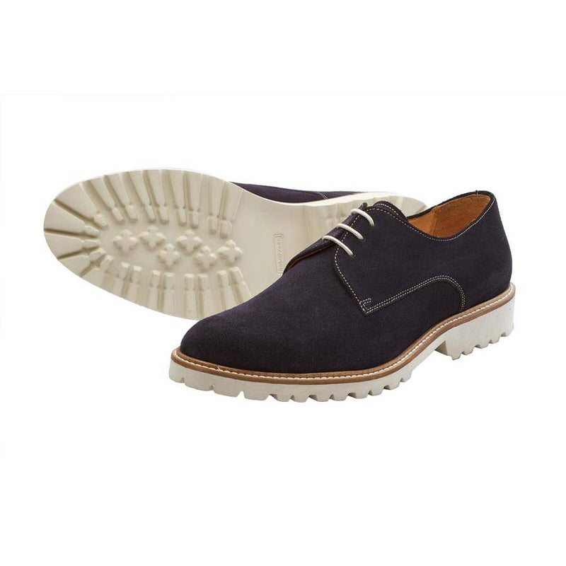 Navy Suede Lightweight Derby