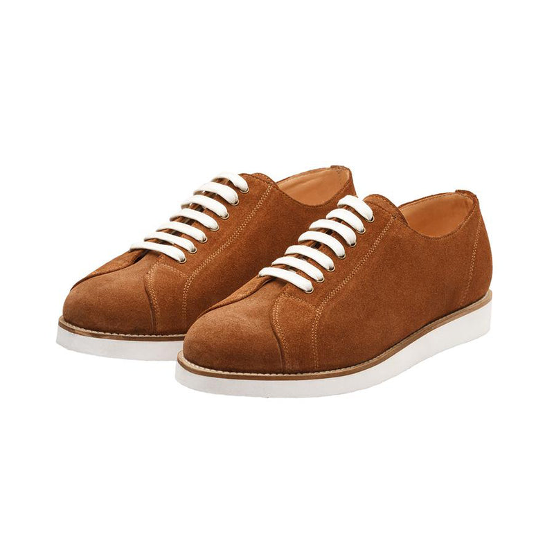 Tan Suede Classic Sneakers