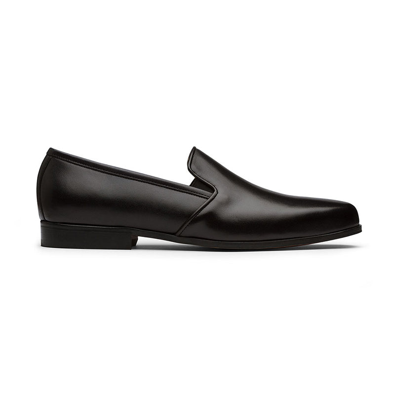 Black Elastic Loafers