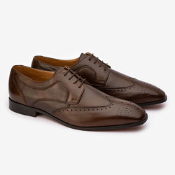 Brown Detailed Wingtips