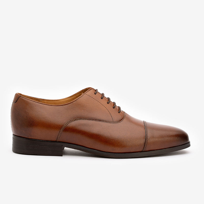Brown Classic Captoe Oxford