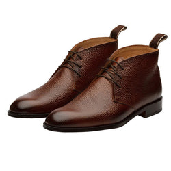 Brown Grain Chukka Boot