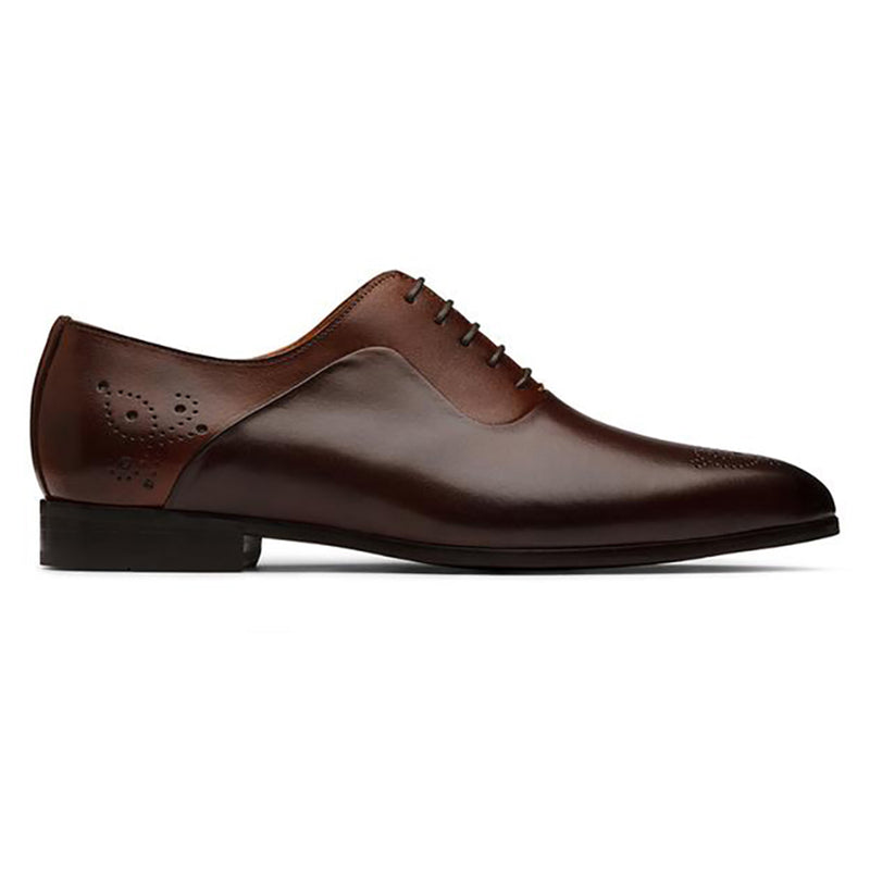 Dual Tone Medallion Oxford