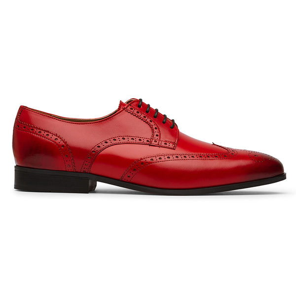 Red Wingtip Derby