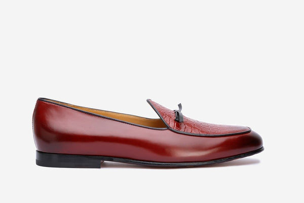 Belgium Loafer With Tassel