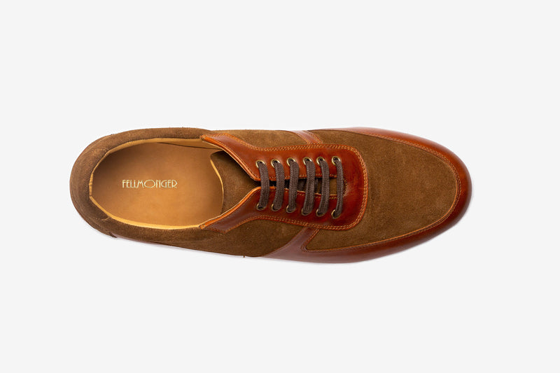 Tan Combination Sneaker Remastered