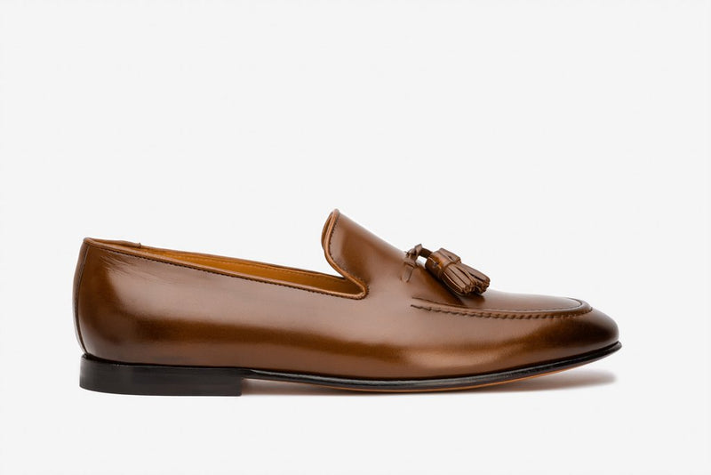 Tassel Loafer Cord Stiching On Vamp
