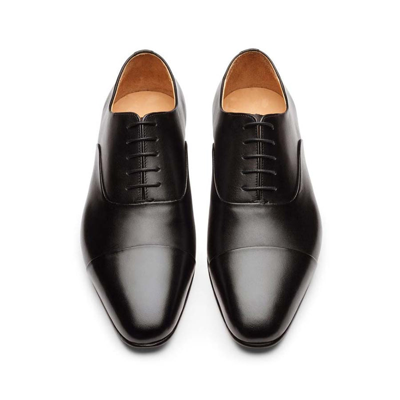 Black Sleek Toecaps