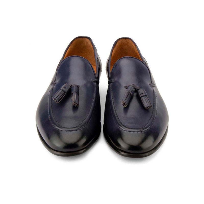 Royal Blue Tassel Loafers