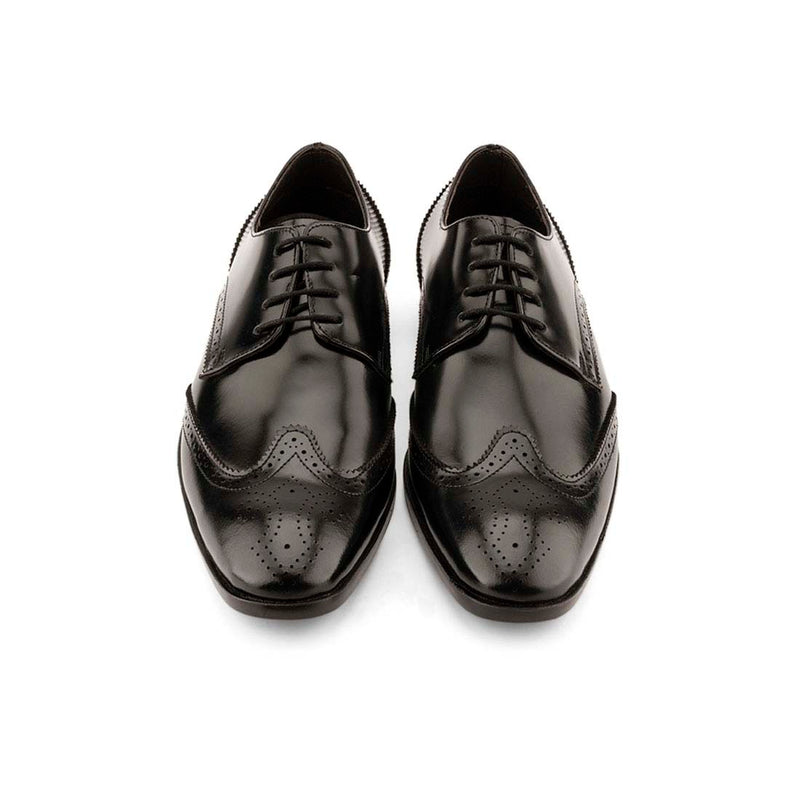 Ultralight 2.0 Brushed Black Brogues