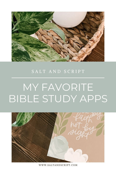 Favorite Bible Study Apps