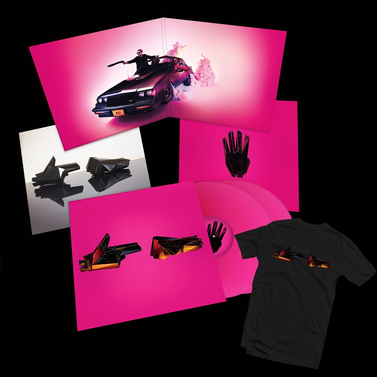RTJ4: 2xLP BUNDLE (BLACK T-SHIRT) - PREORDER