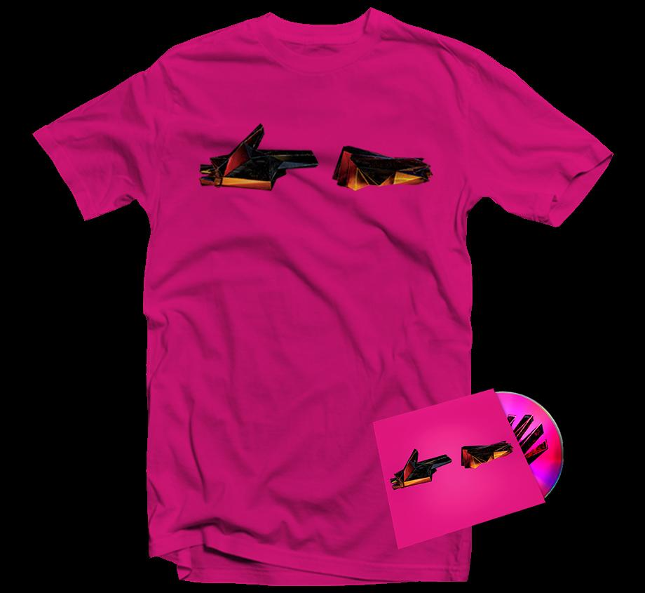 RTJ4: CD BUNDLE (PINK T-SHIRT) - PREORDER