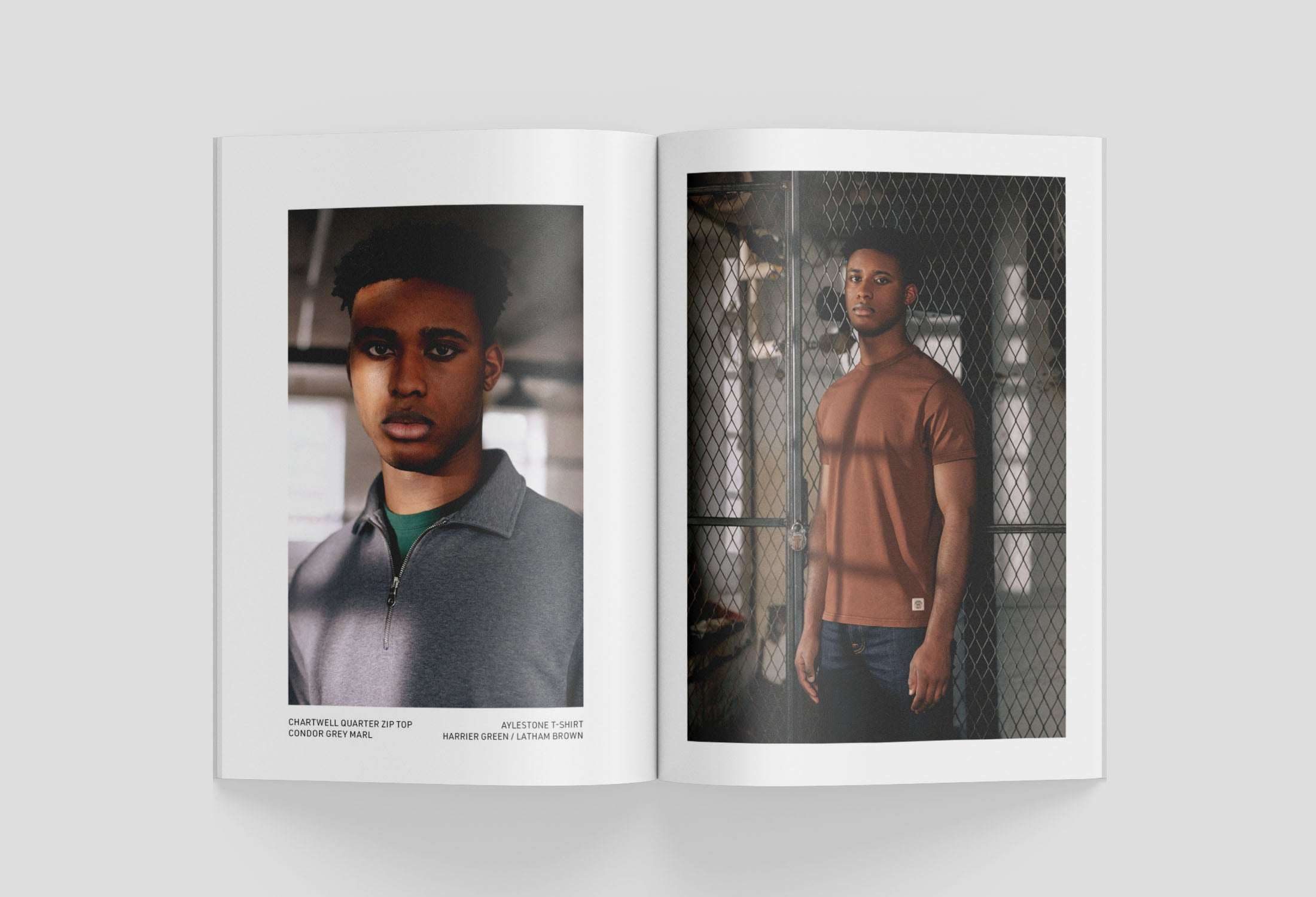 Admiral Sporting Goods AW21 Lookbook - Luminary Collection