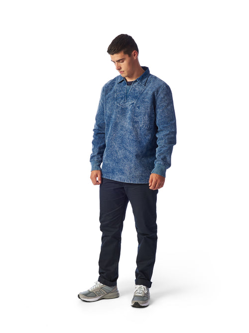 Model Shot Styled - Admiral Sporting Goods | Beaumont Training Top (Cardinal Indigo)