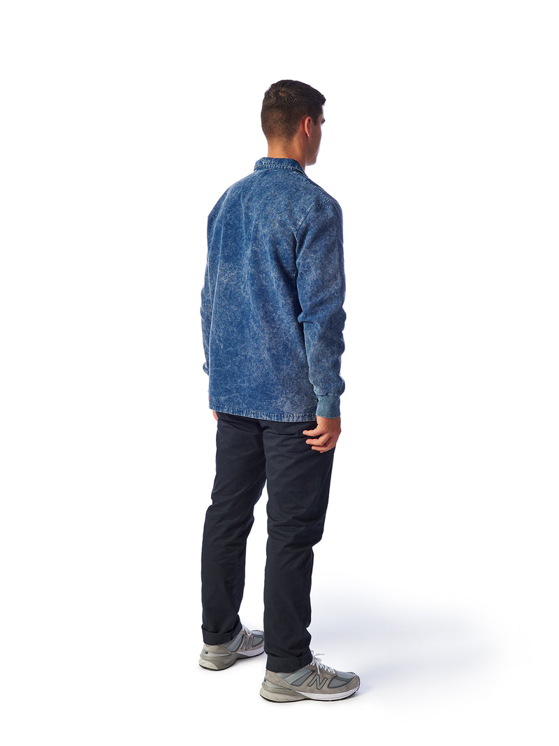 Model Shot Back - Admiral Sporting Goods | Beaumont Training Top (Cardinal Indigo)