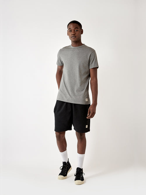 Newton Sweatshort - Kite Black