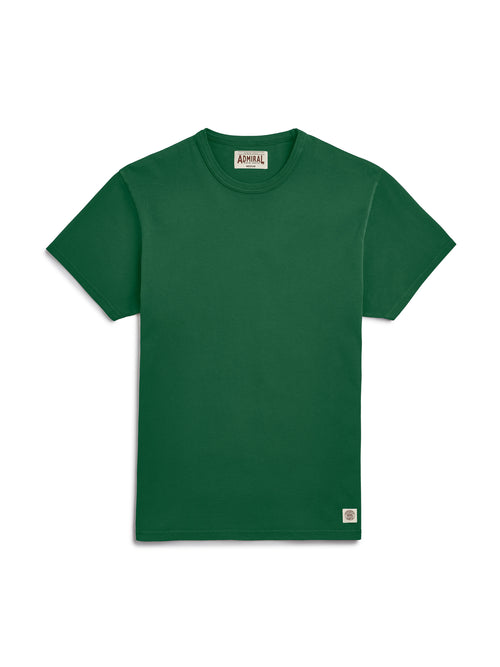 Flat Lay Front Image - Admiral Sporting Goods | Aylestone T-Shirt (Harrier Green)
