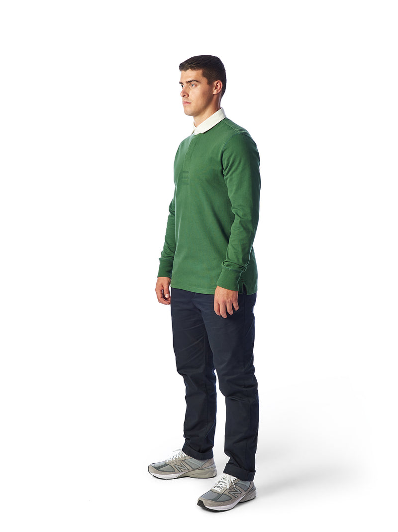 Model Shot Front - Admiral Sporting Goods | Welford Rugby Shirt – (Harrier Green)