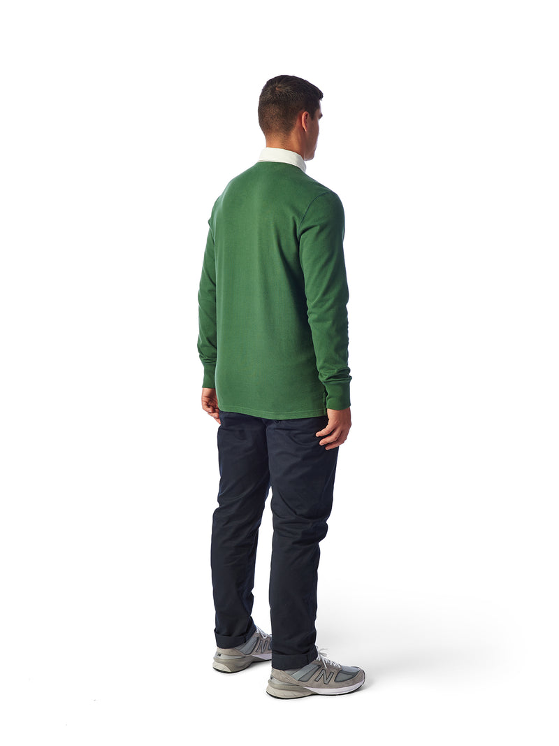 Model Shot Back - Admiral Sporting Goods | Welford Rugby Shirt – (Harrier Green)