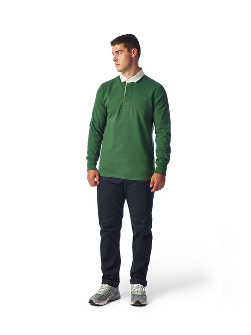 Model Shot Styled - Admiral Sporting Goods | Welford Rugby Shirt – (Harrier Green)