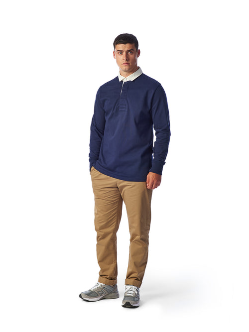 Model Shot Styled - Admiral Sporting Goods | Welford Rugby Shirt – (Hawk Navy)